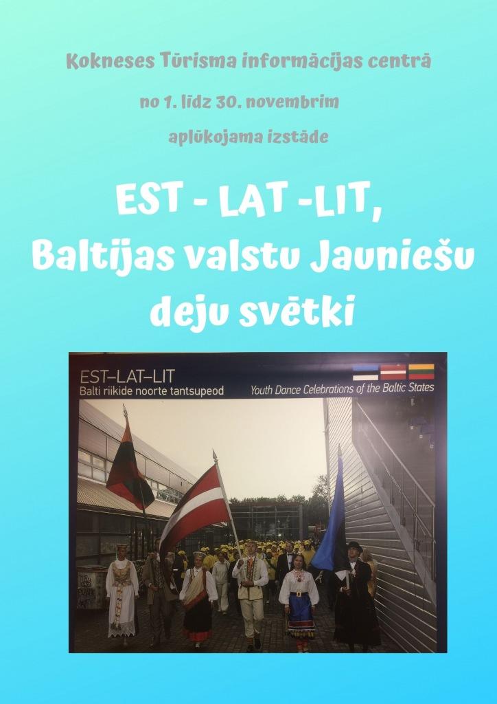 EST - LAT -LIT, Baltijas valstu Jauniešu deju svētki.jpg